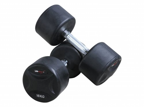 Lifemaxx Fixed Dumbbell Set - 2 x 9 kg