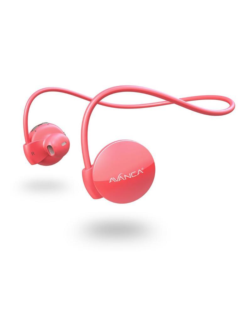 Afbeelding van Avanca S1 Sports Headset - Neon Pink