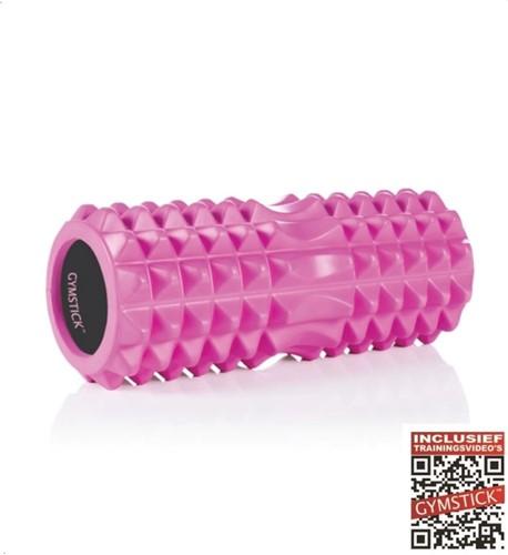 Gymstick Emotion Barrel Roller - Foam Roller - 33 cm - Met online trainingsvideo's