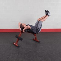 Body-Solid (Best Fitness) Ab Board - Rood