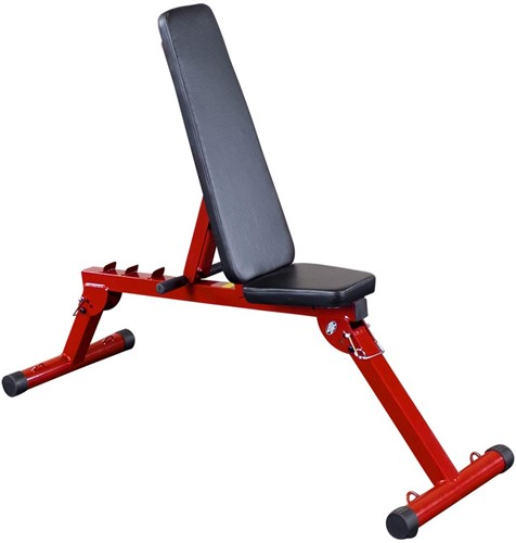 Body-Solid (Best Fitness) Fid Bench - Rood - Showroommodel
