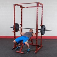 Body-Solid (Best Fitness) Powerrack - Rood