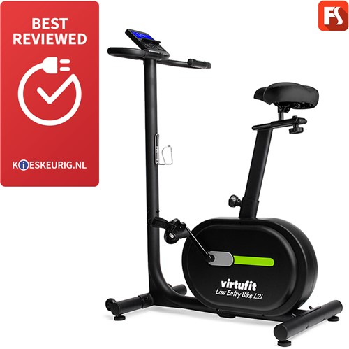 VirtuFit Low Entry Bike 1.2i Hometrainer - Inclusief Gratis Training DVD