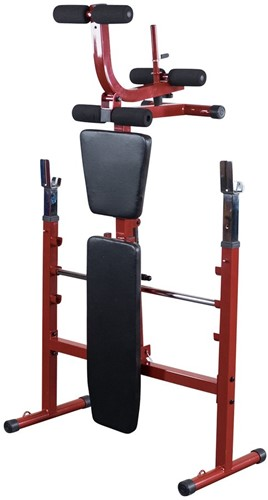 Body-Solid (Best Fitness) Olympic Bench - Rood