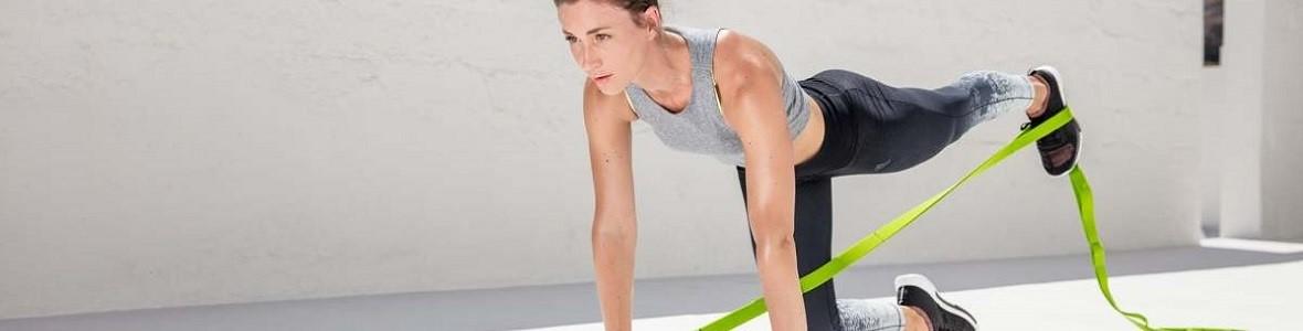 Weerstandsbanden als vervanging voor traditionele fitnessoefeningen