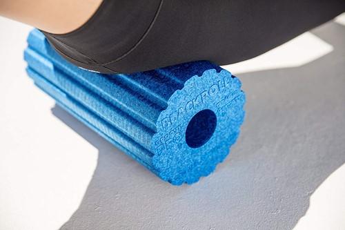 Blackroll Groove Pro Foam Roller - 30 cm - Blauw-2