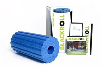 Blackroll Groove Pro Foam Roller - 30 cm - Blauw-3
