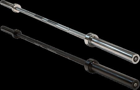 Body-Solid Olympic Power Bar - 220 cm - Chroom-2