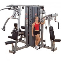 Body Solid ProDual 4 Stack Homegym-1