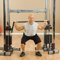 Body-Solid Functional Training Center Bar Accessoire