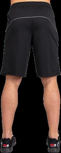 Gorilla Wear Branson Shorts - Zwart/Grijs-3