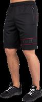 Gorilla Wear Branson Shorts - Zwart/Rood