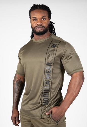 Gorilla Wear Branson T-Shirt - Zwart/Legergroen