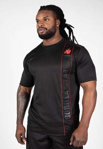 Gorilla Wear Branson T-Shirt - Zwart/Rood