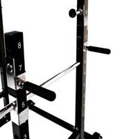 Bruce Lee Dragon Power Rack Halterbank - Showroom Model-3