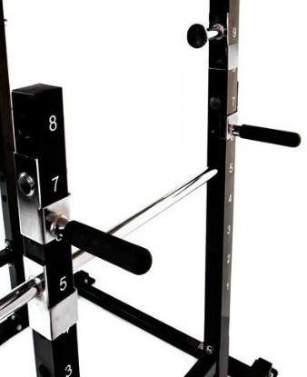 Bruce Lee Dragon Power Rack Halterbank - Showroommodel-3