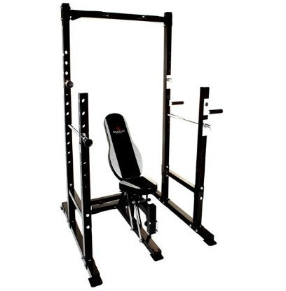 Bruce Lee Dragon Power Rack Halterbank - Showroommodel