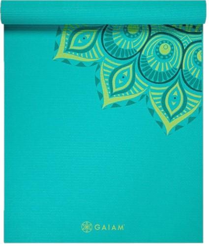 Gaiam Yoga Mat - 6 mm - Capri