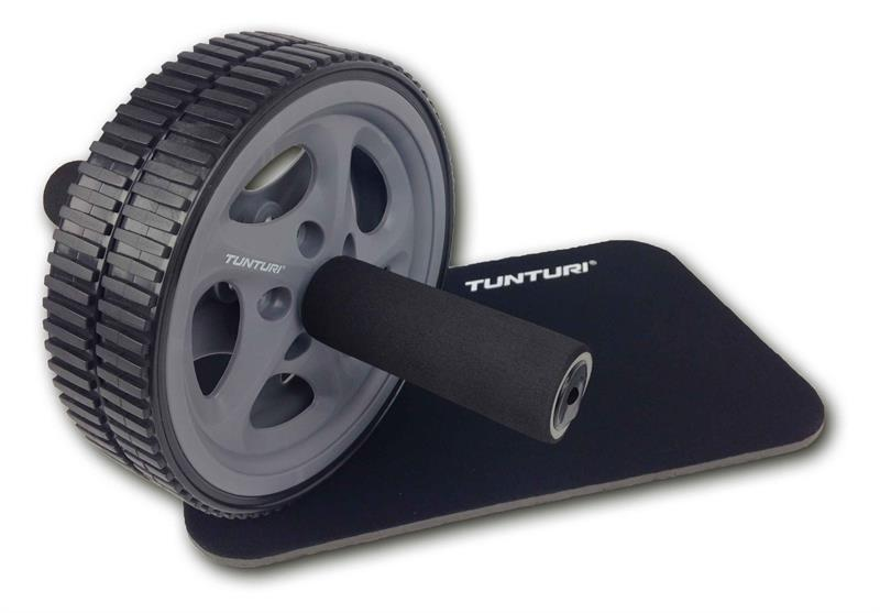 Tunturi-Bremshey Luxury Exercise Wheel With Kneepad Set