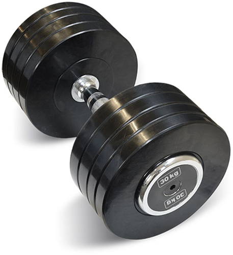 Body-Solid Pro Style Rubber Dumbells - 30 kg