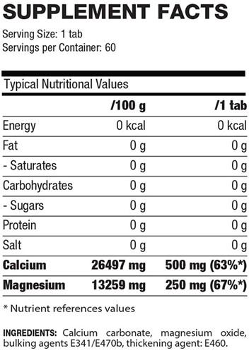 QNT Calcium en Magnesium - 60 tabs-2