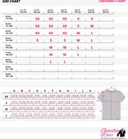 cheyenne-t-shirt maat tabel