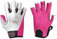 Harbinger Women's X3 Competition Open Finger Crossfit Fitness Handschoenen Pink/Gray/White