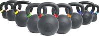 Lifemaxx Crossmaxx Kettlebell - Gietijzer met Poedercoating - 24 kg-2