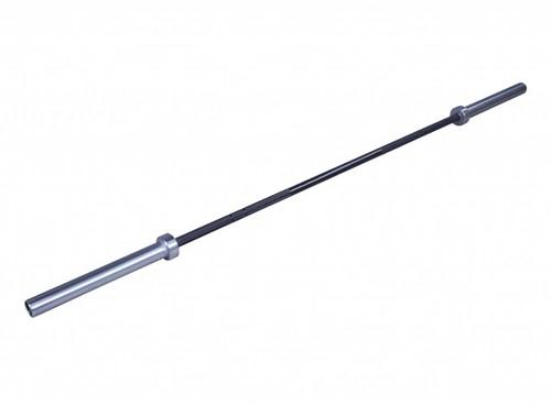 Lifemaxx Crossmaxx Olympische Halterstang - 220 cm (50 mm) - Zwart