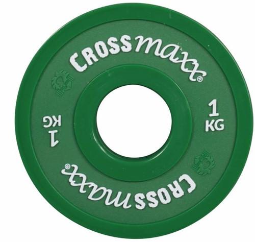 Lifemaxx Crossmaxx Elite Fractional Plate - Halterschijf - 50 mm - 1 kg