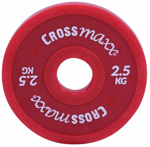 Lifemaxx Crossmaxx Elite Fractional Plate - Halterschijf - 50 mm - 2,5 kg