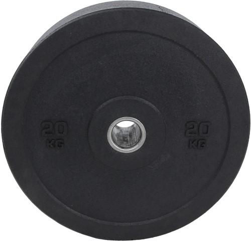 Lifemaxx Hi-Temp Olympische Halterschijf - 50 mm - 20 kg - Zwart