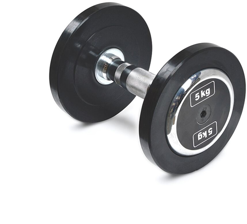 Body-Solid Pro Style Rubber Dumbells - 5 kg