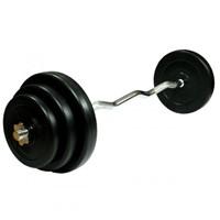 VirtuFit Curlstang Gietijzer 60 kg