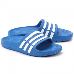 Adidas Duramo Slippers Slide Blauw Junior