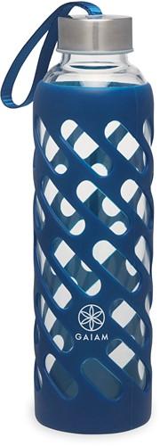 Gaiam Sure Grip Waterfles - 590 ml - Denim