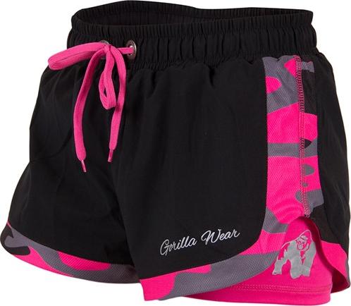 Gorilla Wear Denver Shorts Zwart/Roze