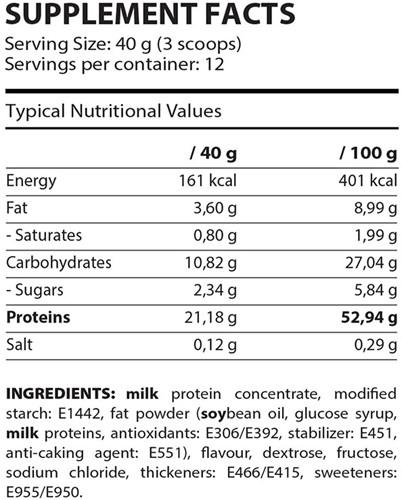 QNT Dessert Proteïne - 480 gram-2
