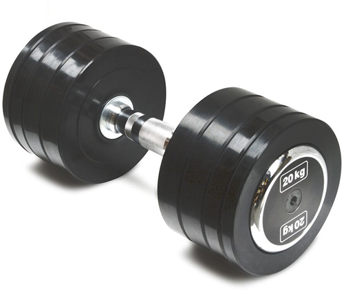 Body-Solid Pro Style Rubber Dumbells - 20 kg