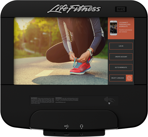 Life Fitness Platinum Club Discover SE3HD Crosstrainer - Diamond White - Gratis montage-2