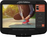 Life Fitness Platinum Club Series Discover SE3HD Flexstrider - Diamond White - Gratis montage-3