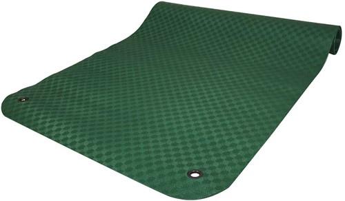 Reha Fit XL Fitnessmat - Yogamat - 180 x 100 x 0,8 cm - Donkergroen