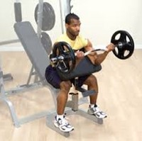 Body-Solid Preacher Curl Station -2
