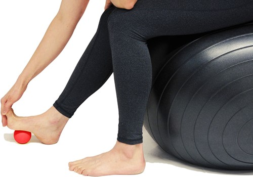 Gymstick MyoFascial Massage Bal met Trainingsvideo's-2