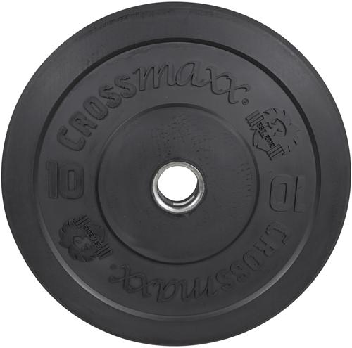 Lifemaxx Crossmaxx Olympische Halterschijf - 50 mm - 10 kg - Zwart