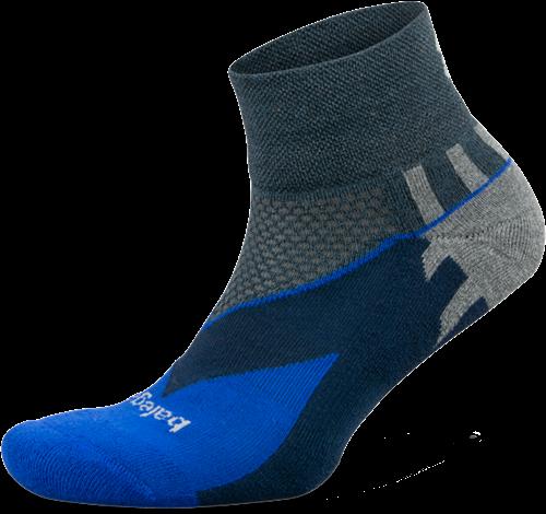 Balega Enduro Quarter Sportsok - Blauw / Grijs