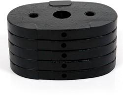 22,5 kg gewicht voor Finnlo M1 - M2 homegym