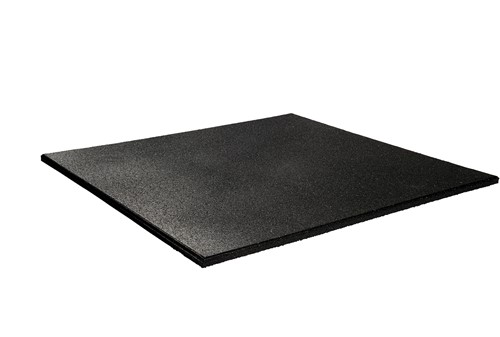 Rubber Home Extreme Crossfit Vloer - 50 x 50 x 1,5 cm - Zwart
