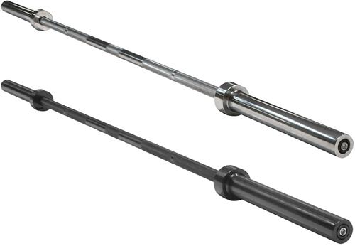 Body-Solid Olympic Power Bar - 220 cm - Chroom