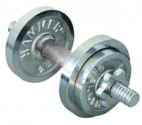 Finnlo Dumbbell Set - Chroom - 10 kg
